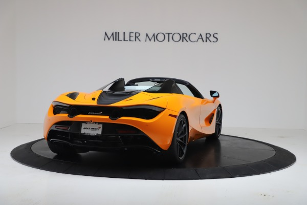 New 2020 McLaren 720S Spider Convertible for sale $374,440 at Bugatti of Greenwich in Greenwich CT 06830 7