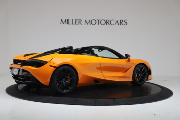 New 2020 McLaren 720S Spider Convertible for sale $374,440 at Bugatti of Greenwich in Greenwich CT 06830 8