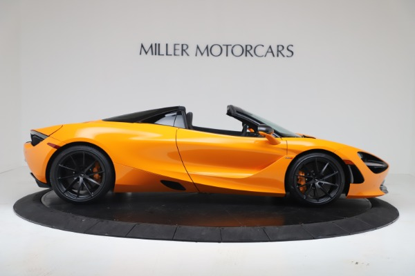 New 2020 McLaren 720S Spider Convertible for sale $374,440 at Bugatti of Greenwich in Greenwich CT 06830 9