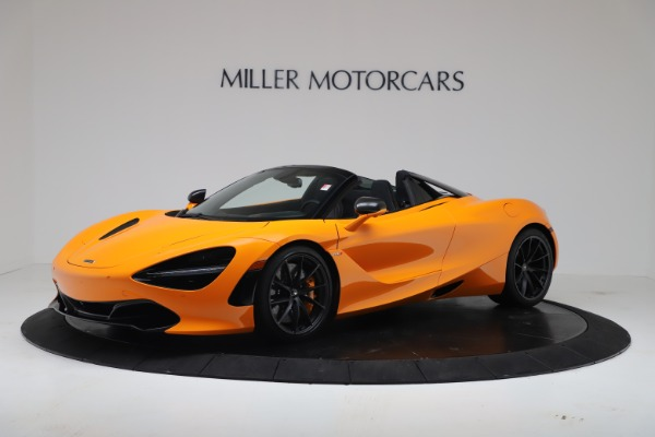 New 2020 McLaren 720S Spider Convertible for sale $374,440 at Bugatti of Greenwich in Greenwich CT 06830 1