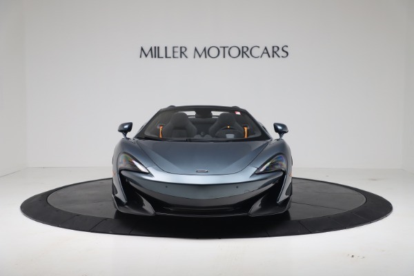 New 2020 McLaren 600LT SPIDER Convertible for sale Sold at Bugatti of Greenwich in Greenwich CT 06830 11
