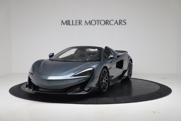 New 2020 McLaren 600LT SPIDER Convertible for sale Sold at Bugatti of Greenwich in Greenwich CT 06830 2