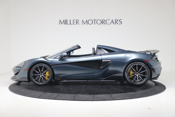 New 2020 McLaren 600LT SPIDER Convertible for sale Sold at Bugatti of Greenwich in Greenwich CT 06830 3
