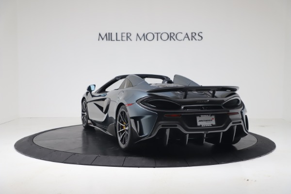 New 2020 McLaren 600LT SPIDER Convertible for sale Sold at Bugatti of Greenwich in Greenwich CT 06830 4