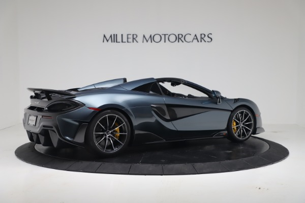 New 2020 McLaren 600LT SPIDER Convertible for sale Sold at Bugatti of Greenwich in Greenwich CT 06830 7