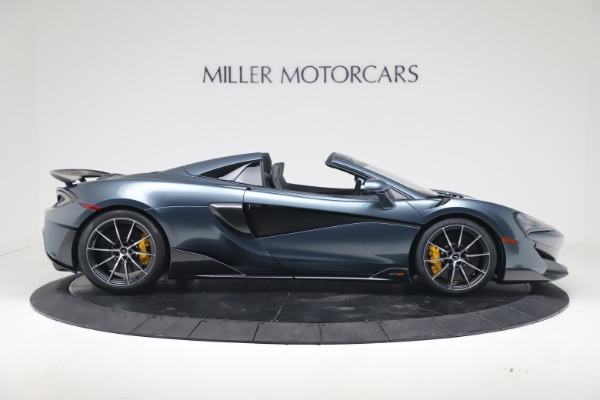 New 2020 McLaren 600LT SPIDER Convertible for sale Sold at Bugatti of Greenwich in Greenwich CT 06830 8