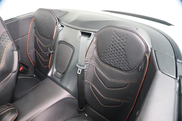 New 2020 Aston Martin DBS Superleggera Volante Convertible for sale Sold at Bugatti of Greenwich in Greenwich CT 06830 24