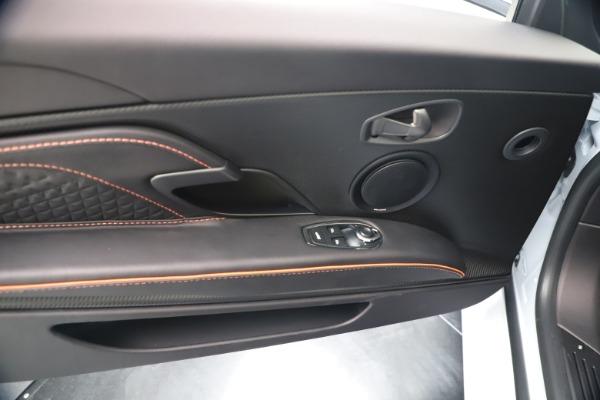 New 2020 Aston Martin DBS Superleggera Volante Convertible for sale Sold at Bugatti of Greenwich in Greenwich CT 06830 28