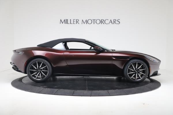 Used 2020 Aston Martin DB11 Volante Convertible for sale Sold at Bugatti of Greenwich in Greenwich CT 06830 17