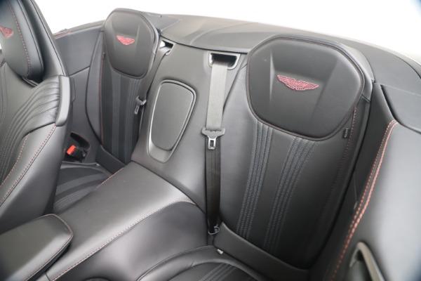 Used 2020 Aston Martin DB11 Volante Convertible for sale Sold at Bugatti of Greenwich in Greenwich CT 06830 24