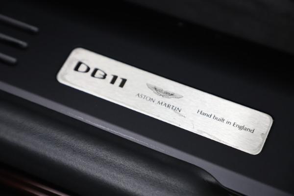 Used 2020 Aston Martin DB11 Volante Convertible for sale Sold at Bugatti of Greenwich in Greenwich CT 06830 26
