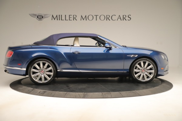 Used 2017 Bentley Continental GTC V8 for sale $149,900 at Bugatti of Greenwich in Greenwich CT 06830 17