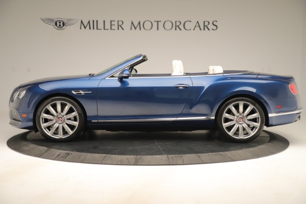 Used 2017 Bentley Continental GTC V8 for sale $149,900 at Bugatti of Greenwich in Greenwich CT 06830 3