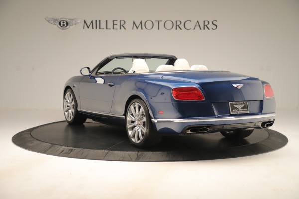 Used 2017 Bentley Continental GTC V8 for sale $149,900 at Bugatti of Greenwich in Greenwich CT 06830 5