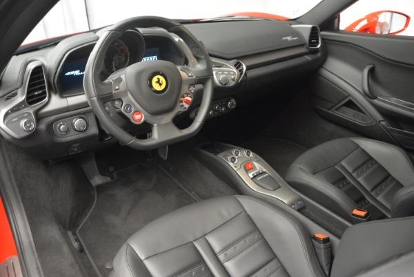 Used 2013 Ferrari 458 Italia for sale Sold at Bugatti of Greenwich in Greenwich CT 06830 13