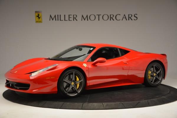 Used 2013 Ferrari 458 Italia for sale Sold at Bugatti of Greenwich in Greenwich CT 06830 2