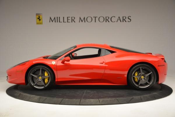 Used 2013 Ferrari 458 Italia for sale Sold at Bugatti of Greenwich in Greenwich CT 06830 3