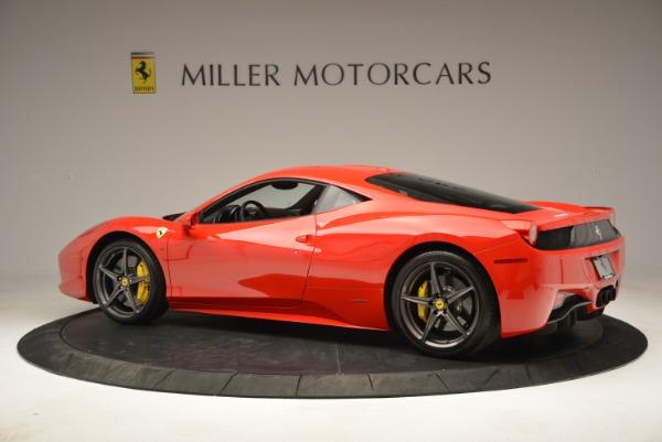 Used 2013 Ferrari 458 Italia for sale Sold at Bugatti of Greenwich in Greenwich CT 06830 4