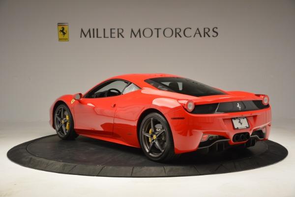 Used 2013 Ferrari 458 Italia for sale Sold at Bugatti of Greenwich in Greenwich CT 06830 5