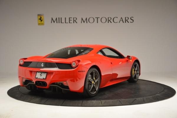 Used 2013 Ferrari 458 Italia for sale Sold at Bugatti of Greenwich in Greenwich CT 06830 7
