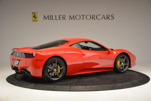 Used 2013 Ferrari 458 Italia for sale Sold at Bugatti of Greenwich in Greenwich CT 06830 8