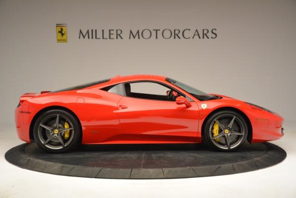 Used 2013 Ferrari 458 Italia for sale Sold at Bugatti of Greenwich in Greenwich CT 06830 9