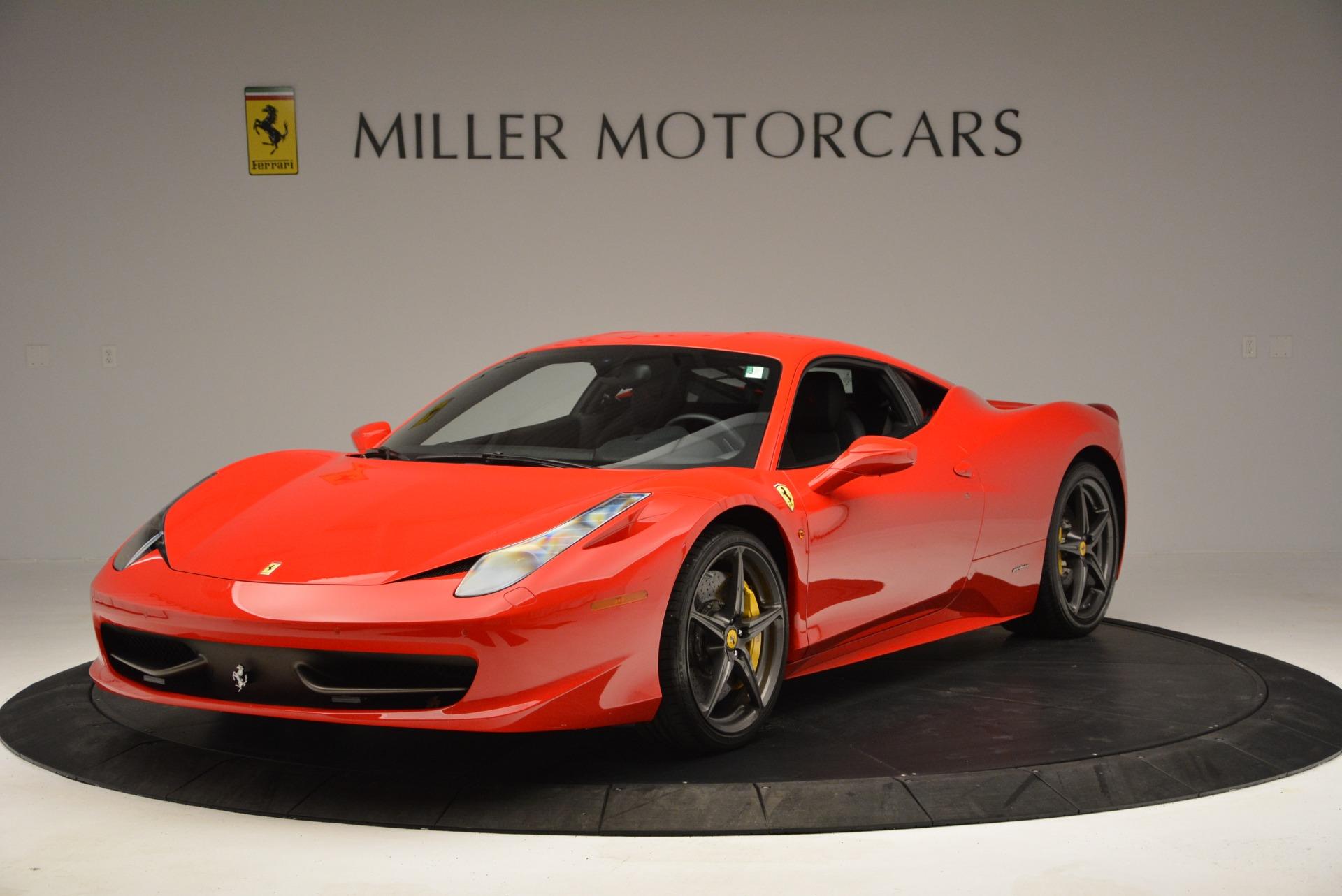 Used 2013 Ferrari 458 Italia for sale Sold at Bugatti of Greenwich in Greenwich CT 06830 1