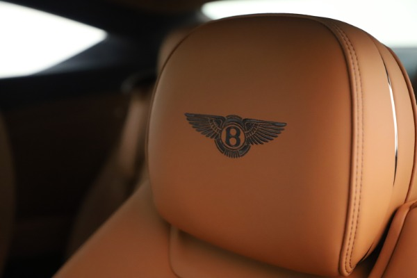 New 2020 Bentley Continental GT V8 for sale $245,105 at Bugatti of Greenwich in Greenwich CT 06830 21