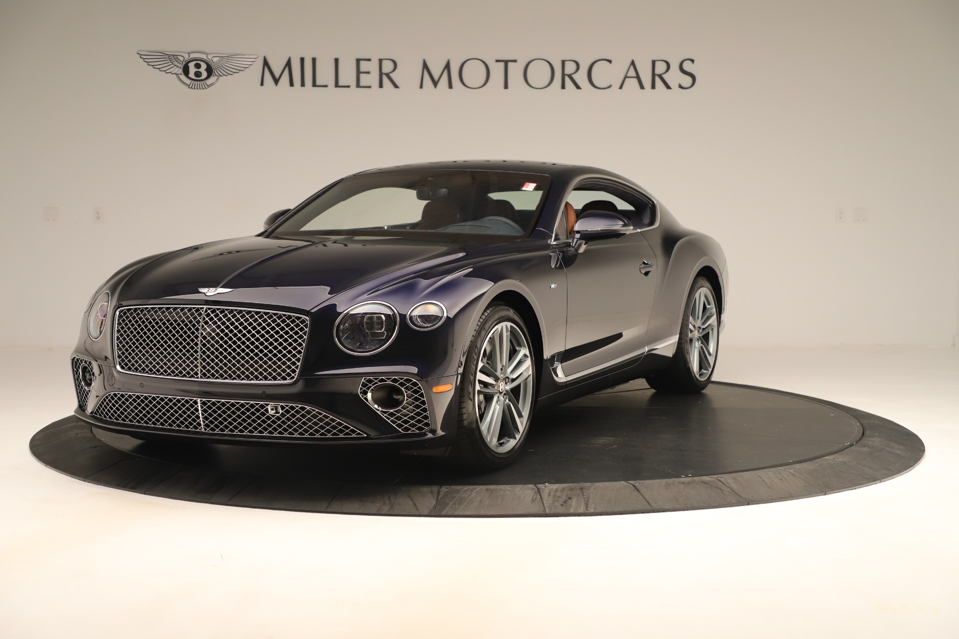 New 2020 Bentley Continental GT V8 for sale $245,105 at Bugatti of Greenwich in Greenwich CT 06830 1
