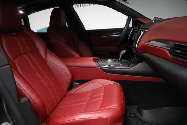 Used 2019 Maserati Levante Q4 GranSport for sale $69,900 at Bugatti of Greenwich in Greenwich CT 06830 22