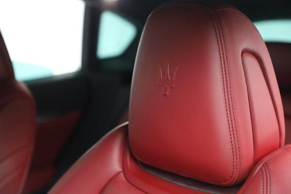 Used 2019 Maserati Levante Q4 GranSport for sale $69,900 at Bugatti of Greenwich in Greenwich CT 06830 28