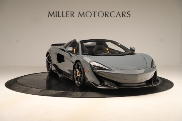 Used 2020 McLaren 600LT Spider for sale Sold at Bugatti of Greenwich in Greenwich CT 06830 10