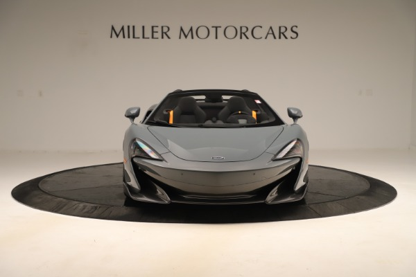 Used 2020 McLaren 600LT Spider for sale Sold at Bugatti of Greenwich in Greenwich CT 06830 11