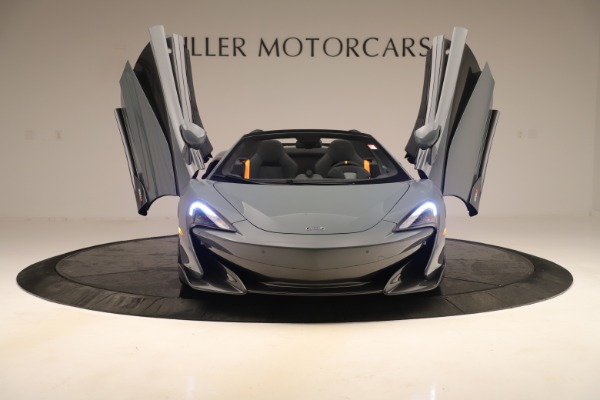 Used 2020 McLaren 600LT Spider for sale Sold at Bugatti of Greenwich in Greenwich CT 06830 12