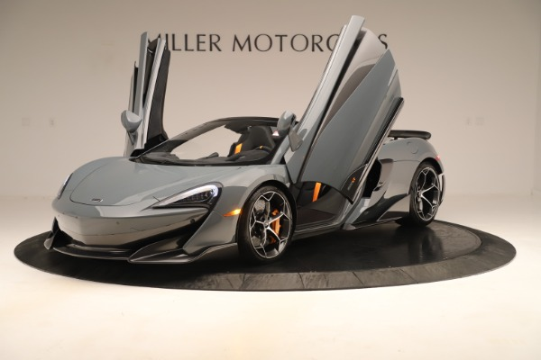 Used 2020 McLaren 600LT Spider for sale Sold at Bugatti of Greenwich in Greenwich CT 06830 13