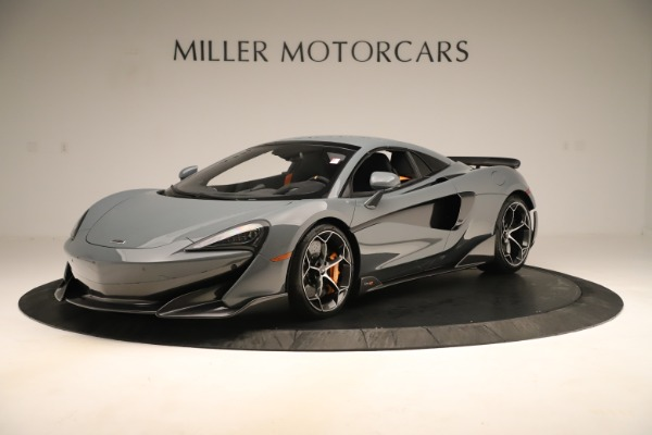 Used 2020 McLaren 600LT Spider for sale Sold at Bugatti of Greenwich in Greenwich CT 06830 14