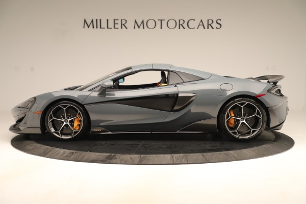Used 2020 McLaren 600LT Spider for sale Sold at Bugatti of Greenwich in Greenwich CT 06830 15