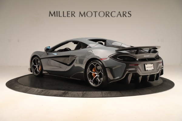 Used 2020 McLaren 600LT Spider for sale Sold at Bugatti of Greenwich in Greenwich CT 06830 16
