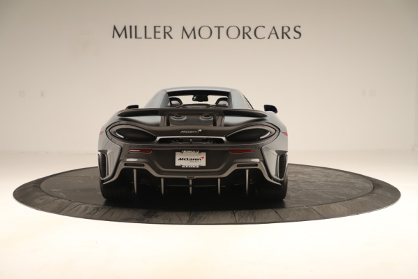 Used 2020 McLaren 600LT Spider for sale Sold at Bugatti of Greenwich in Greenwich CT 06830 17