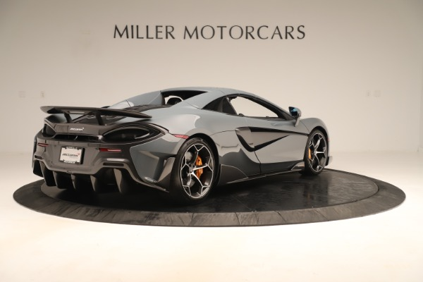 Used 2020 McLaren 600LT Spider for sale Sold at Bugatti of Greenwich in Greenwich CT 06830 18
