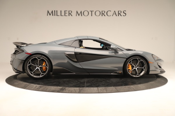 Used 2020 McLaren 600LT Spider for sale Sold at Bugatti of Greenwich in Greenwich CT 06830 19
