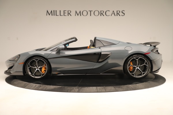 Used 2020 McLaren 600LT Spider for sale Sold at Bugatti of Greenwich in Greenwich CT 06830 2