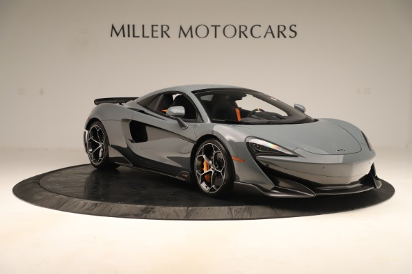 Used 2020 McLaren 600LT Spider for sale Sold at Bugatti of Greenwich in Greenwich CT 06830 20