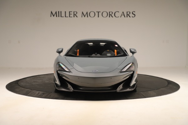 Used 2020 McLaren 600LT Spider for sale Sold at Bugatti of Greenwich in Greenwich CT 06830 21