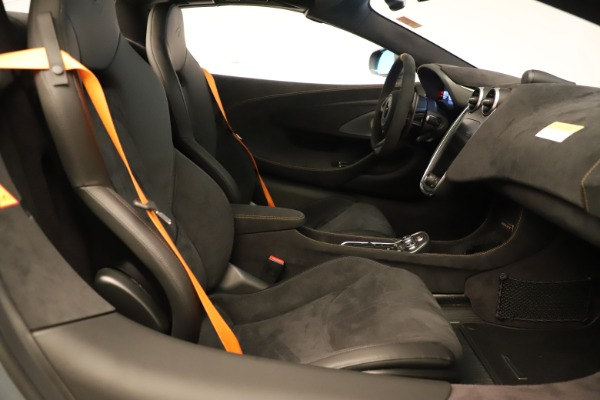 Used 2020 McLaren 600LT Spider for sale Sold at Bugatti of Greenwich in Greenwich CT 06830 26