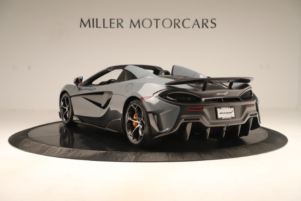 Used 2020 McLaren 600LT Spider for sale Sold at Bugatti of Greenwich in Greenwich CT 06830 4