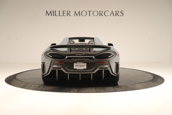 New 2020 McLaren 600LT SPIDER Convertible for sale Sold at Bugatti of Greenwich in Greenwich CT 06830 5