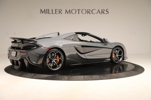 Used 2020 McLaren 600LT Spider for sale Sold at Bugatti of Greenwich in Greenwich CT 06830 7