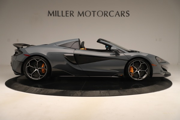 Used 2020 McLaren 600LT Spider for sale Sold at Bugatti of Greenwich in Greenwich CT 06830 8
