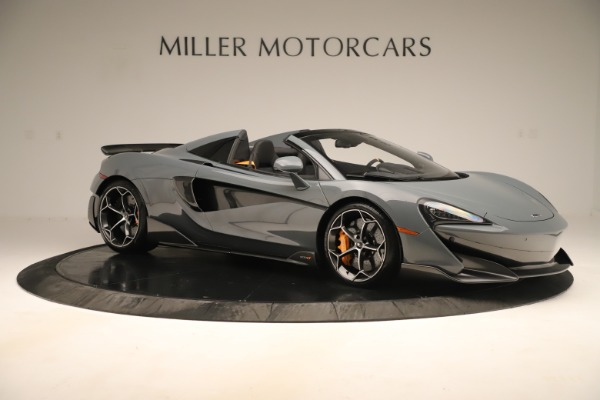 Used 2020 McLaren 600LT Spider for sale Sold at Bugatti of Greenwich in Greenwich CT 06830 9